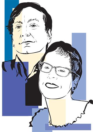 MinnPost founders Joel and Laurie Kramer