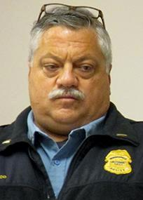 Police union president John Delmonico