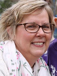 St. David's Center executive director Julie Sjordal
