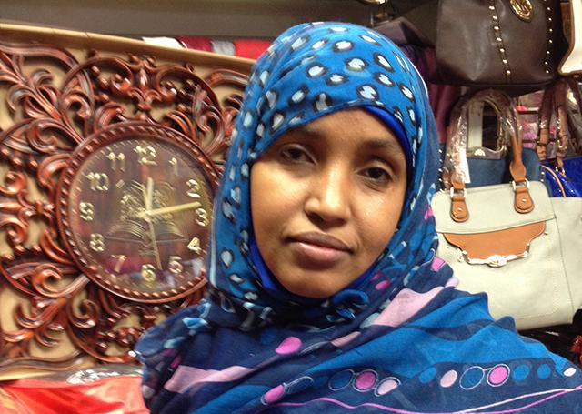 Kiin Yusuf, a 34-year-old Muslim woman from Minneapolis