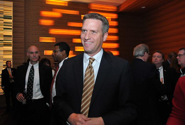 House Minority Leader Kurt Daudt, shown on election night