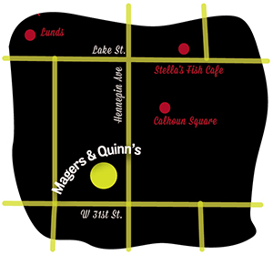 Magers & Quinn map