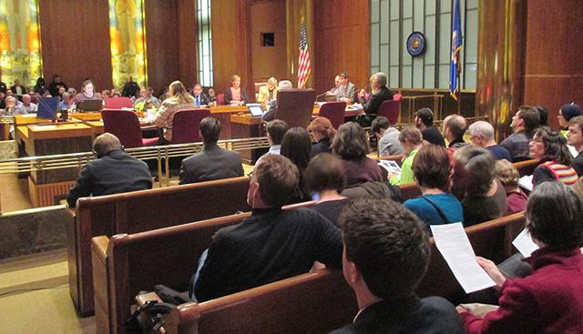 Wednesday night's St. Paul City Council meeting