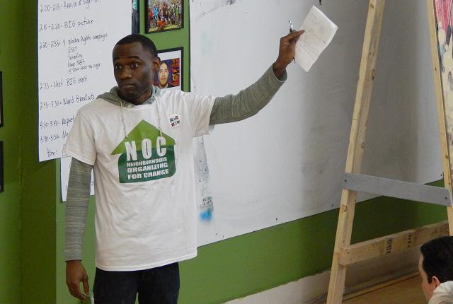 Neighborhoods Organizing for Change field director Mike Griffin