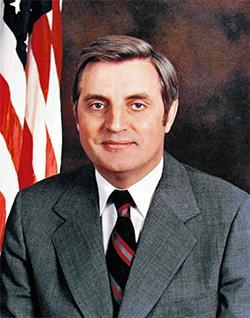 Walter Mondale's Vice Presidential portrait