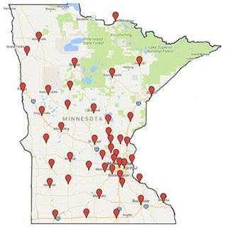 NAMI-Minnesota's 40 city tour