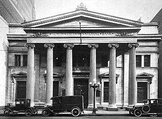 Northwestern National Bank, circa 1933