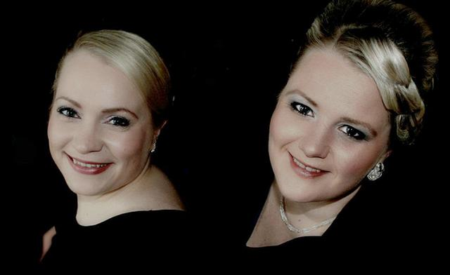 Norwegian pianist Inger-Kristine Riber and Finnish accordionist Heidi Luosujärvi