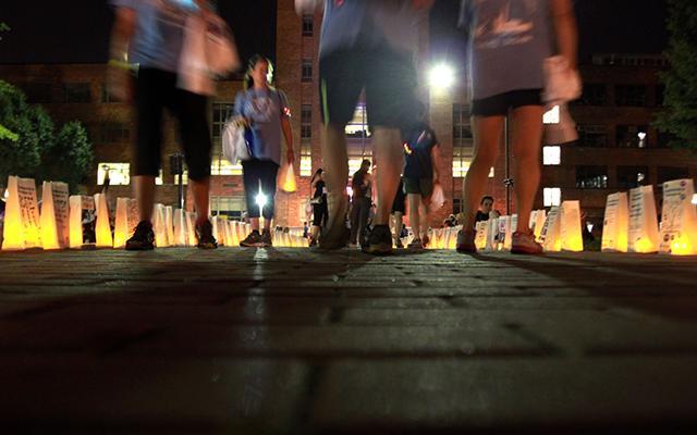 memorial walk photo