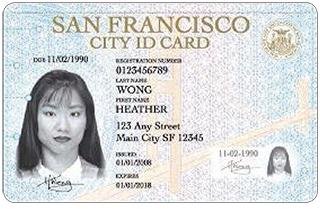 San Francisco municipal ID card