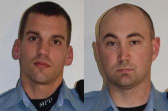 MPD officers Dustin Schwarze and Mark Ringgenberg