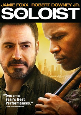 """Poster for the 2009 film """"The Soloist"""""""
