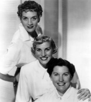The Andrews Sisters in 1952