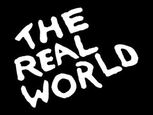 the real world title logo