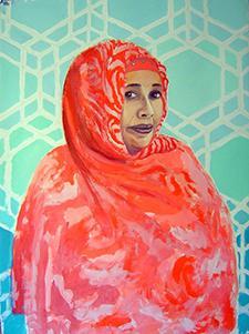 """""""Portrait of Ugaaso"""" by Pamela Gaard"""