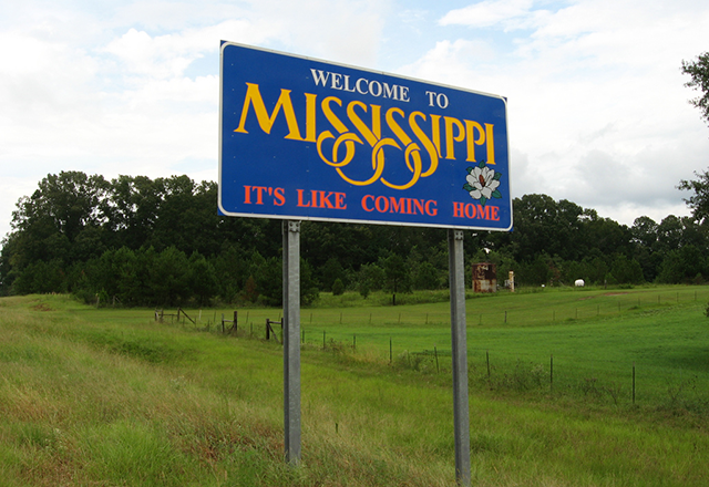 The colorectal-cancer death rate per 100,000 persons is 8.9 in Mississippi