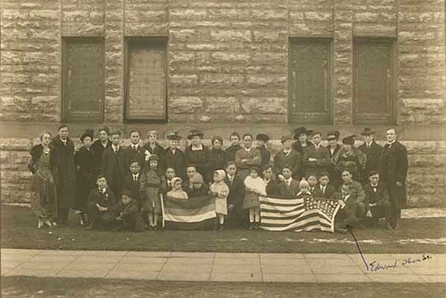 The Chinese Sunday School at Westminster Presbyterian Church in 1919.