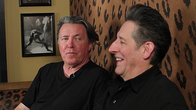 Robert Wilkinson, left, and Johnny Rey