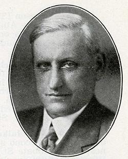 A.J. Rockne in 1935