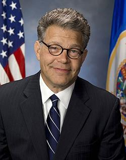 portrait of senator al franken