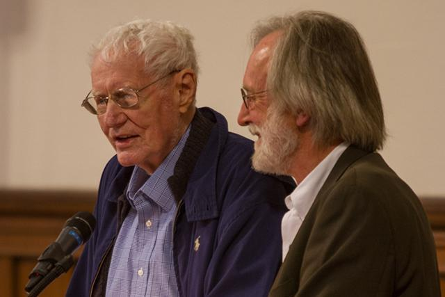 Robert Bly and Jim Lenfestey