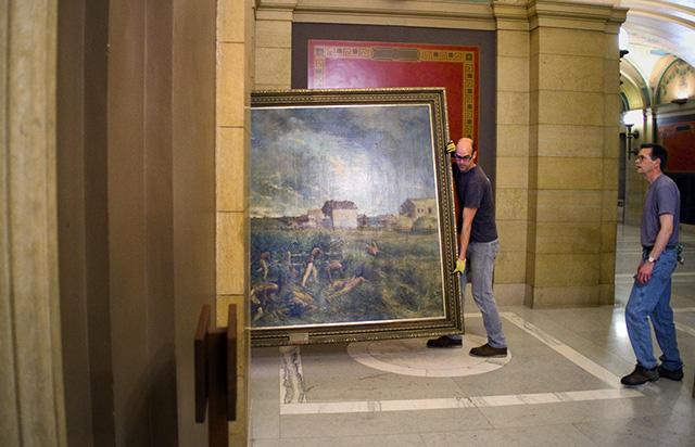 Behind the scenes of the Minnesota Capitol restoration