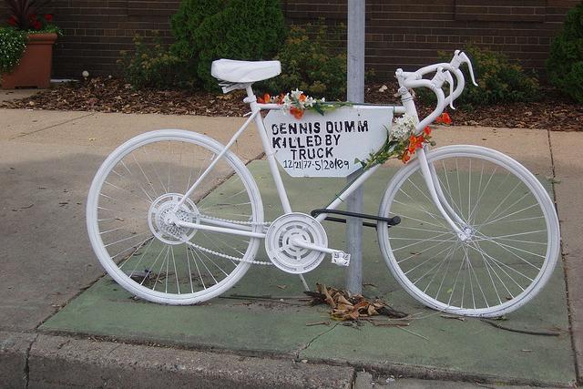 Dennis Dumm memorial bike