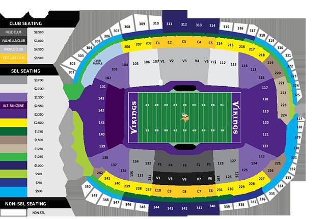 stadium map