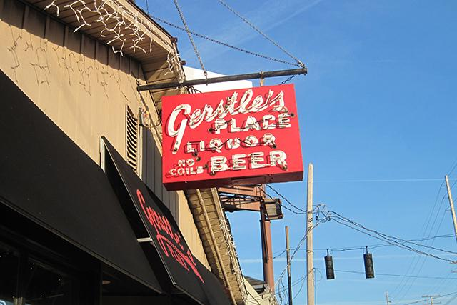 sign outside gerstles place