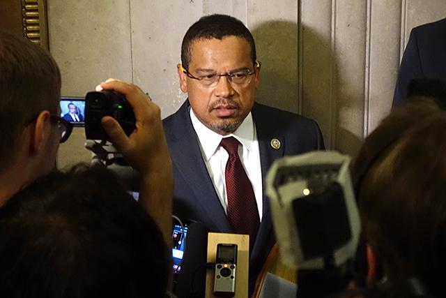 Why is Keith Ellison leaving a safe seat in Congress to make