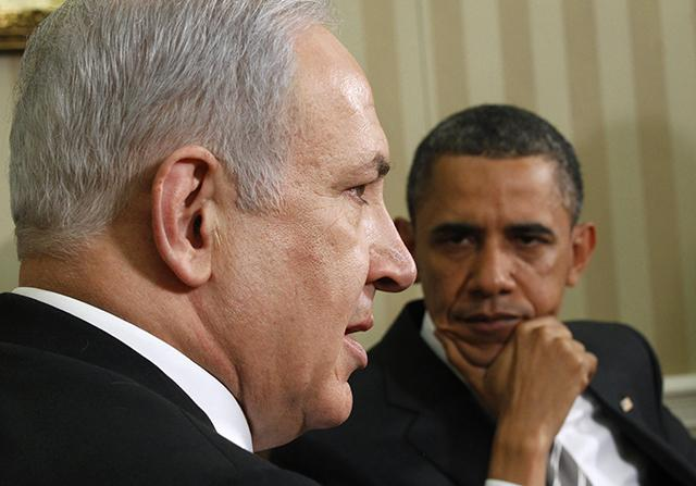 "Image result for obama netanyahu"""