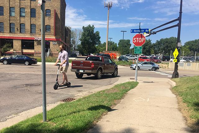 Sidewalks, drunken scootering, and 'Bird Hunters