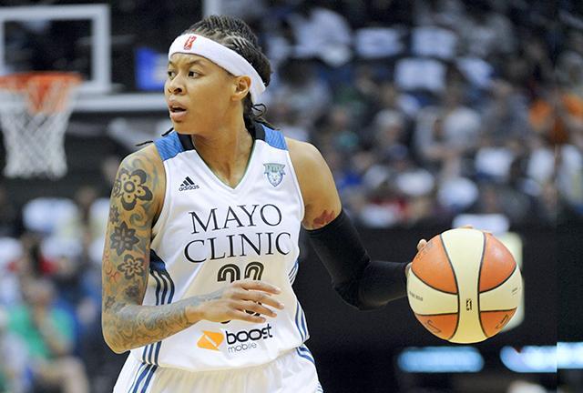 46e6edc38ded Year-round season kneecaps Minnesota Lynx star Seimone Augustus ...