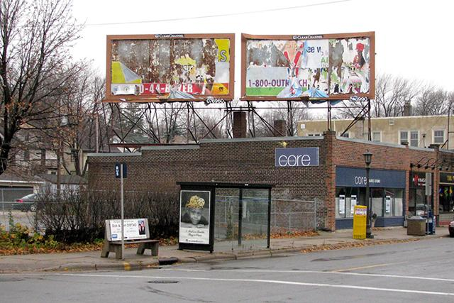 Tilting at billboards in St  Paul   MinnPost