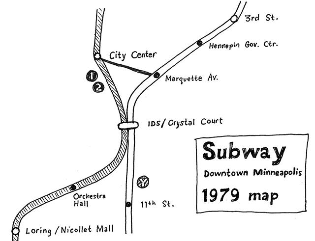 Minneapolis Subway Map.Imagining A Minneapolis Subway System Of The 1970s Minnpost