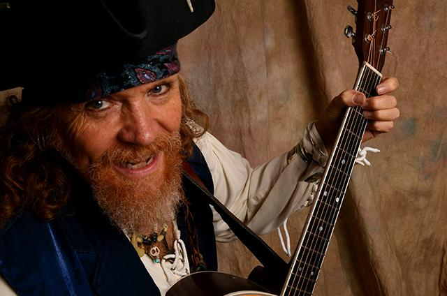 Musician Tom Mason is having time of his life — as a pirate