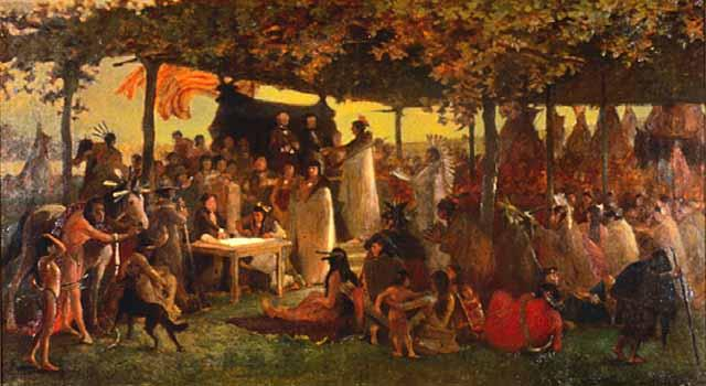 Treaty of Traverse des Sioux ceded millions of acres from