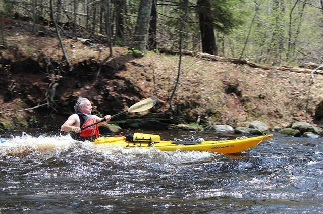 meador in kayak