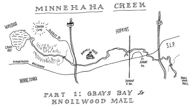 Walking Minnehaha Creek: Canoeing it would be a lot easier ... on er hopkins map, hopkins organizational chart, hopkins state map, hopkins university, johns hopkins map, hopkins hospital map, hopkins library hours, jhh map, jhu map,