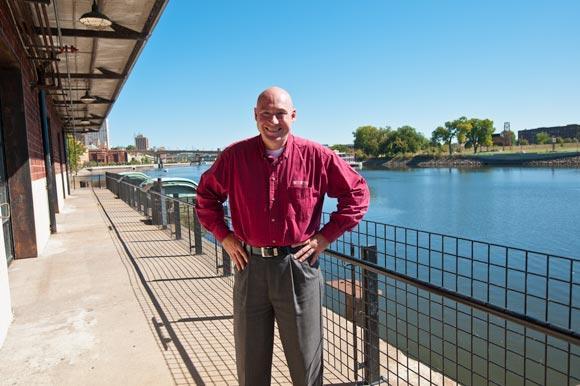 Saint Paul Parks and Recreation director Michael Hahm