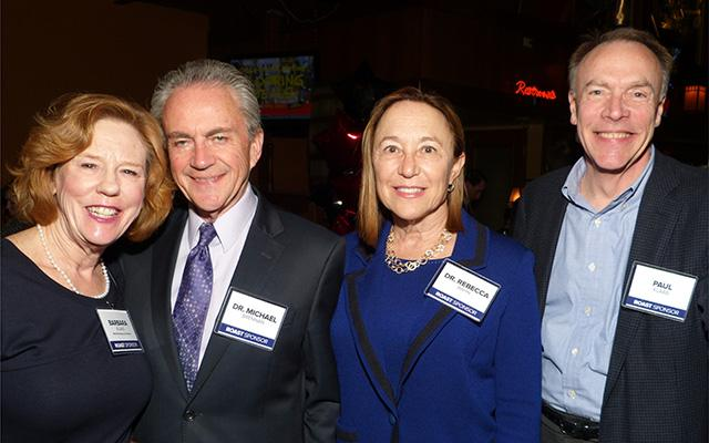 MinnPost board member Barbara Klaas, Dr. Michael Brennan, Dr. Rebecca Bahn and P
