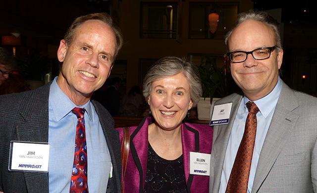Jim and Ellen Van Iwaarden and Jay Cowles