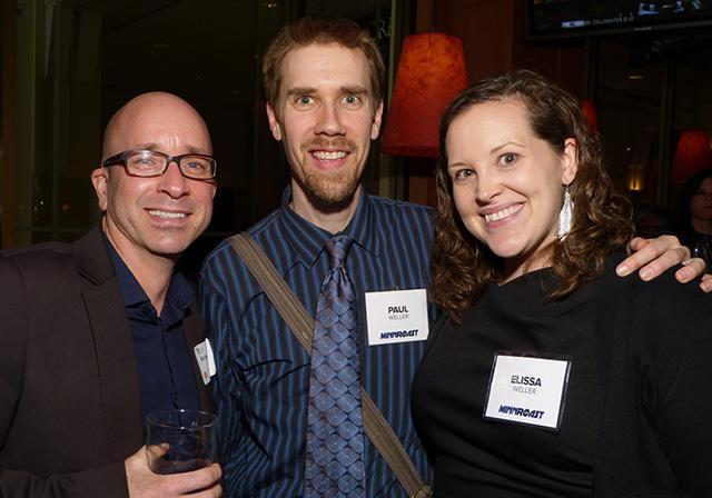 MinnPost contributing photographer Bill Kelley, Paul and Elissa Weller