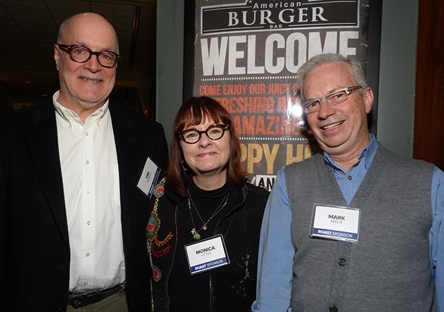 Tim Poretti, Monica Little and Mark Abeln