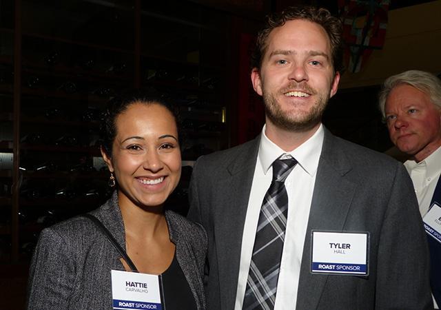 Hattie Carvalho and Tyler Hall