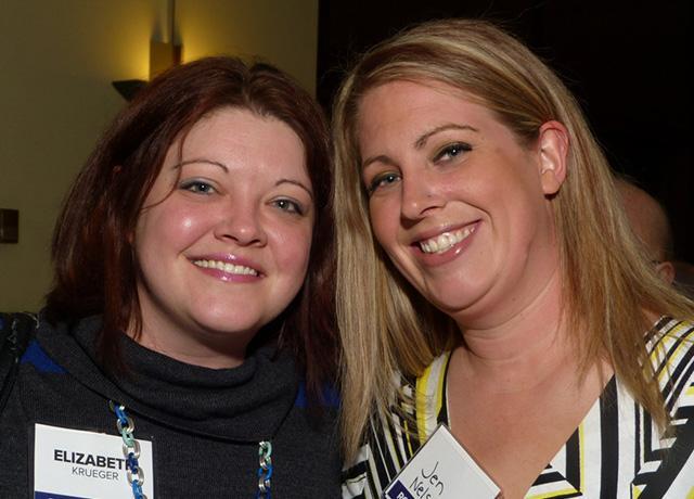 Elizabeth Krueger and Jen Nelson