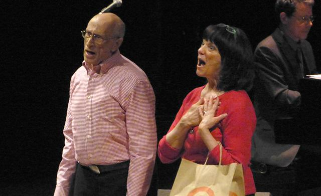 "Al Sicherman and Debbie Irestone performing ""Somebody Stole My PIN"""