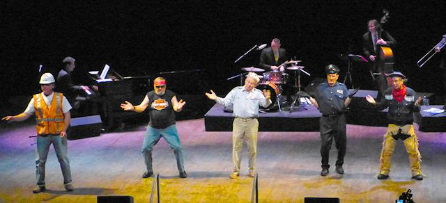 Brian Turner, Lee Lynch, Warren Kapsner, Joe Kimball and Joel Kramer