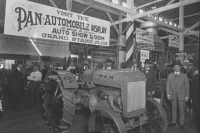 The Pan Motor Company struggled as it produced car parts for other companies and