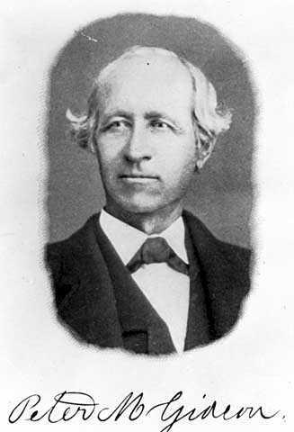 Peter M Gideon
